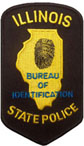 Bureau of Identification Patch
