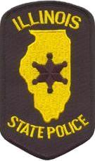 Illinois State Police Patch