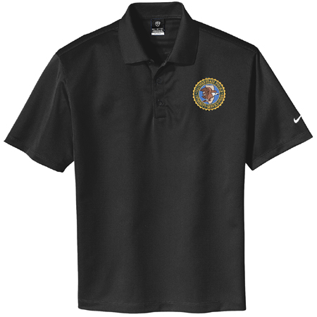 NIKE DRI-FIT Polo (Black)