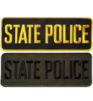 State Police Panel Patch