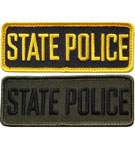 State Police Name Tag Patch